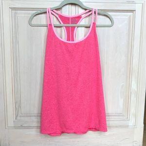 Women's Champion pink athletic tank top